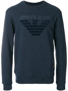 толстовка с принтом логотипа Armani Jeans