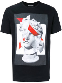 футболка с рисунком спереди Neil Barrett