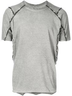 футболка с контрастной отделкой Isaac Sellam Experience