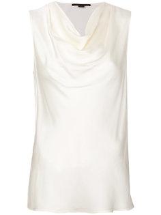 блузка с воротом-холмут Stella McCartney