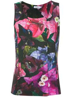 floral print top Isolda