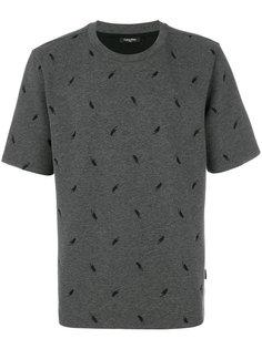 футболка с вышивкой Calvin Klein