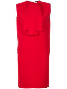 платье-шифт с воротником с завязкой Maison Rabih Kayrouz