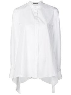 классическая однотонная рубашка Alexander McQueen