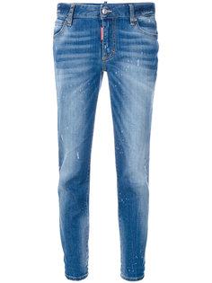 укороченные джинсы скинни  Dsquared2