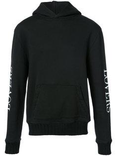 heart back print hoodie Amiri