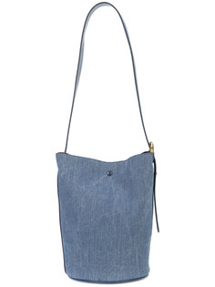 джинсовая сумка-ведро Derek Lam 10 Crosby