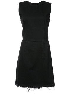 платье мини на молнии Alexander Wang