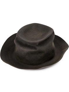 шляпа с помятым эффектом Horisaki Design & Handel