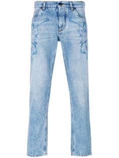 джинсы с ангелом Dolce & Gabbana