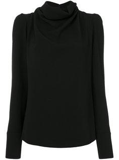 блузка с воротником-хомут  Maison Margiela