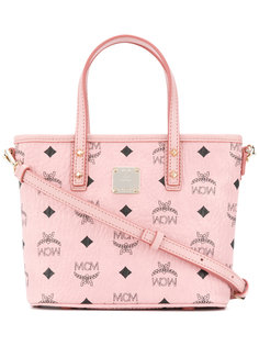 мини сумка-тоут Anya на молнии MCM
