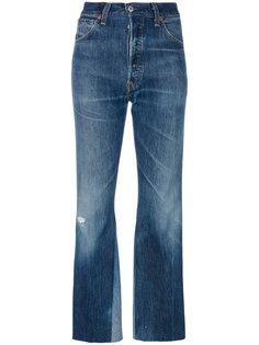 широкие укороченные джинсы Re/Done