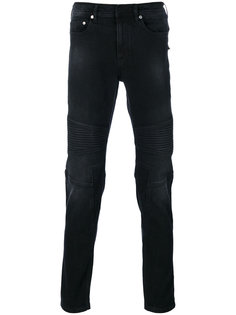 джинсы в байкерском стиле Neil Barrett