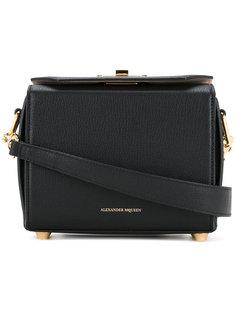 маленькая сумка через плечо с цепочной отделкой Alexander McQueen
