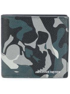кошелек с камуфляжным принтом Alexander McQueen