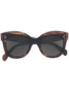 крупные солнцезащитные очки Céline Eyewear