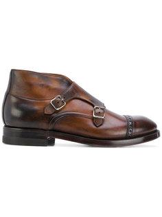 ботинки с застежкой на две пряжки Eleventy