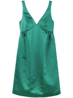 платье с бантом без рукавов Rochas