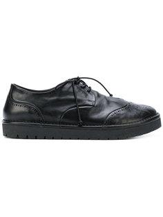 ботинки-броги на низкой платформе Marsèll