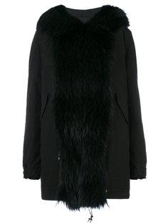 пальто с меховой оторочкой Mr & Mrs Italy