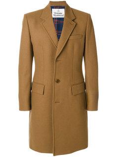 однобортное пальто Vivienne Westwood