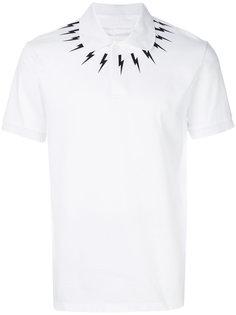 рубашка-поло с молниями Neil Barrett