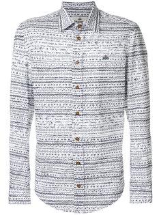рубашка с принтом рисунков ручкой Vivienne Westwood