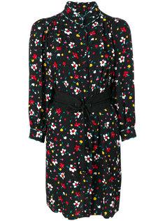 платье-рубашка с цветочным принтом Marc Jacobs