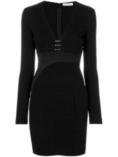 мини-платье с глубоким вырезом Versace Collection