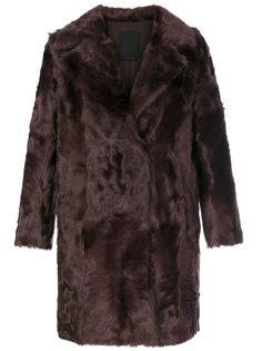 пальто на пуговицах  Liska