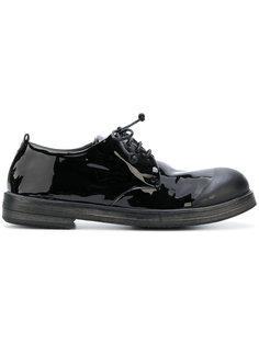 ботинки дерби с матовым носом Marsèll