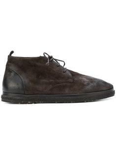 высокие ботинки на толстой подошве Marsèll