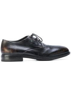 ботинки-дерби с выжженным эффектом Marsèll