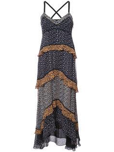 многослойное платье макси  Proenza Schouler