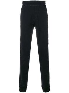 спортивные брюки свободного кроя с полосками по баком Lanvin