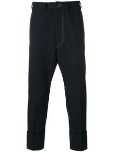 укороченные брюки с заниженной проймой Vivienne Westwood