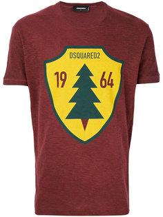 футболка с принтом  Dsquared2