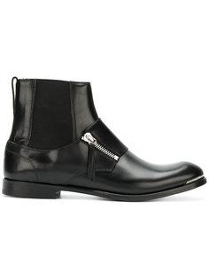 ботинки с молнией  Alexander McQueen