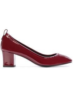 туфли на устойчивом каблуке Lanvin