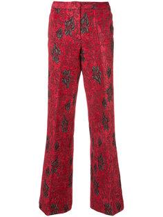 широкие брюки с вышивкой Derek Lam