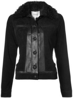 Toby Jacket with Shearling Collar Derek Lam 10 Crosby