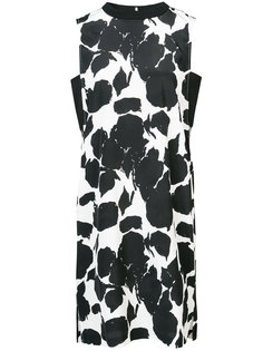 Sleeveless Shift Dress With Side Bands Derek Lam 10 Crosby