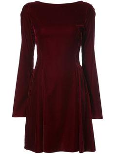 Long Sleeve Lace-Up Back Dress Derek Lam 10 Crosby