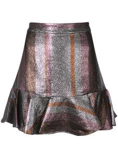 Ruffle Hem Flounce Skirt Derek Lam 10 Crosby
