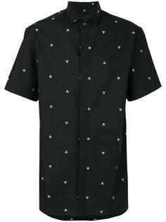 рубашка с вышивкой Adorn Philipp Plein