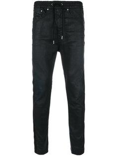 брюки с заниженным шаговым швом Diesel Black Gold