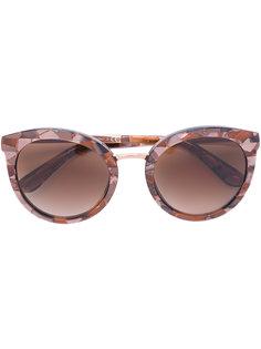 солнцезащитные очки круглой формы Dolce & Gabbana Eyewear