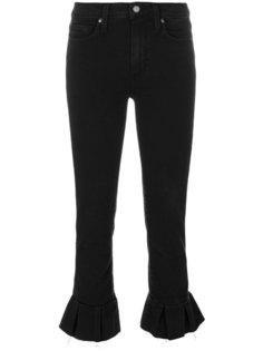 укороченные джинсы с баской Paige