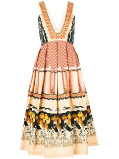 плиссированное платье Foxglove Temperley London